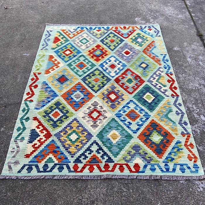 Afghan Kellim Handmade Rug