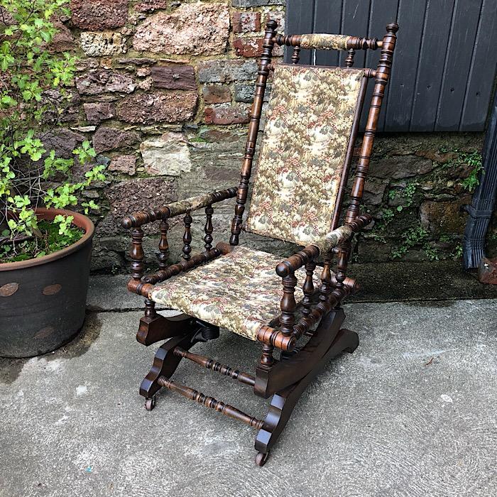 American Style Rocking Chair Treasure Trove Antique