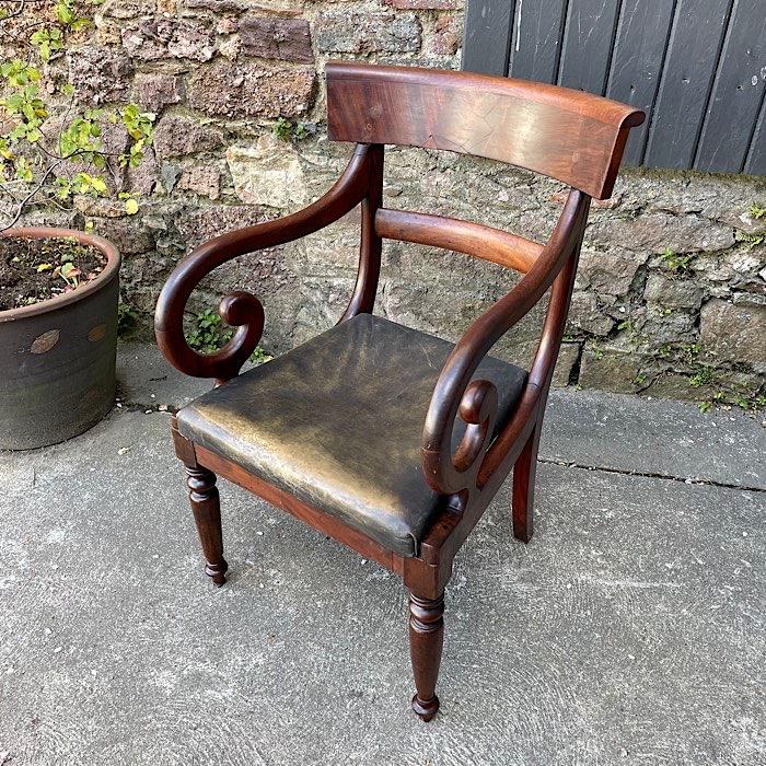 Antique Elbow Chair