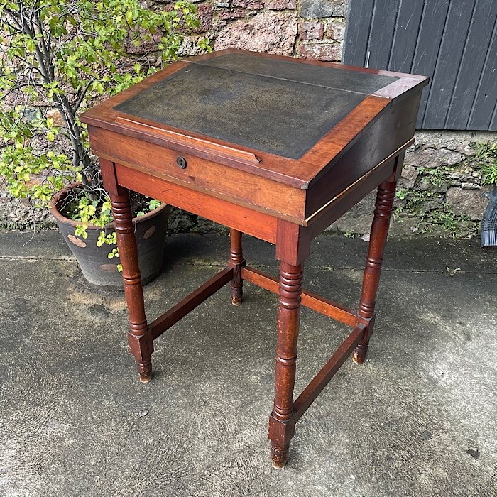 Antique Sloped Writing Desk