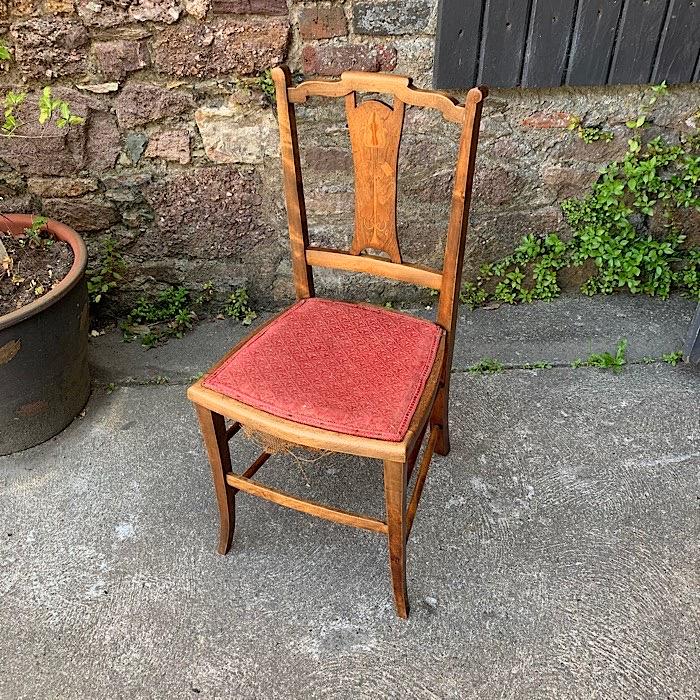 Arts & Crafts Bedroom Chair