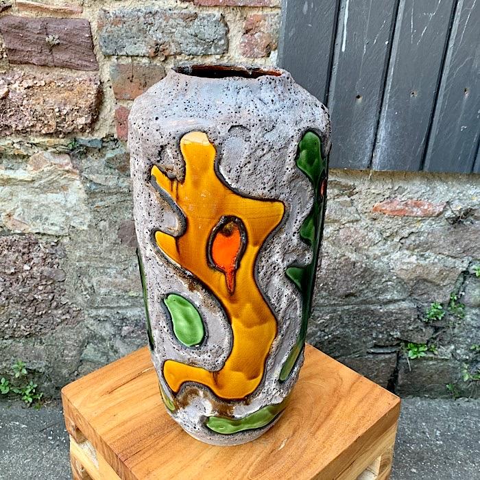 Ceramic West German Vase #11