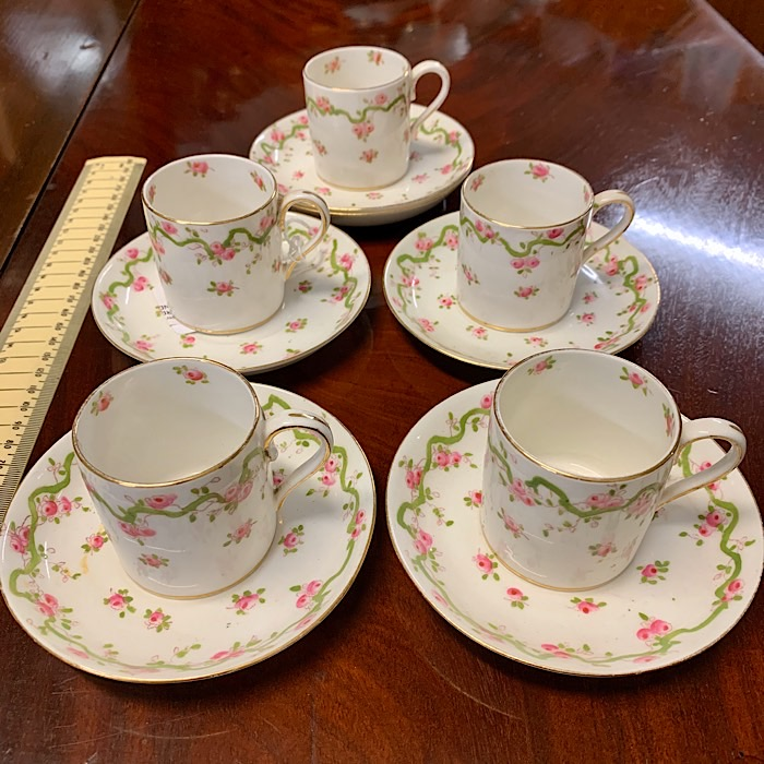 Crown Staffordshire Coffee Set