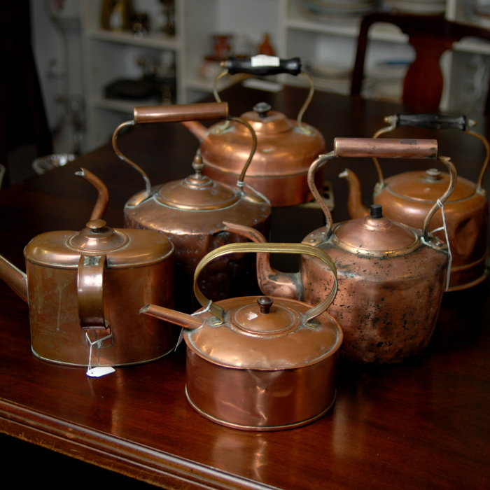 Selection of Copper Items