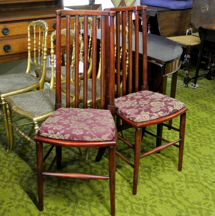 Set 2 Occasional Chairs