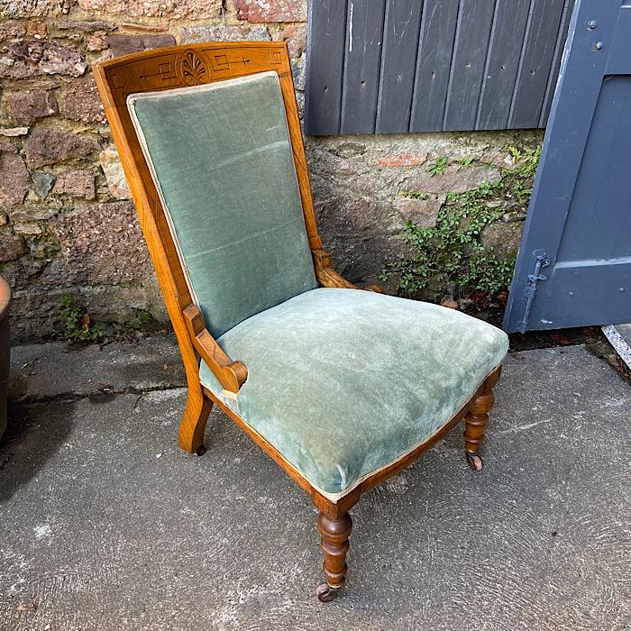 Edwardian Nursing Chair