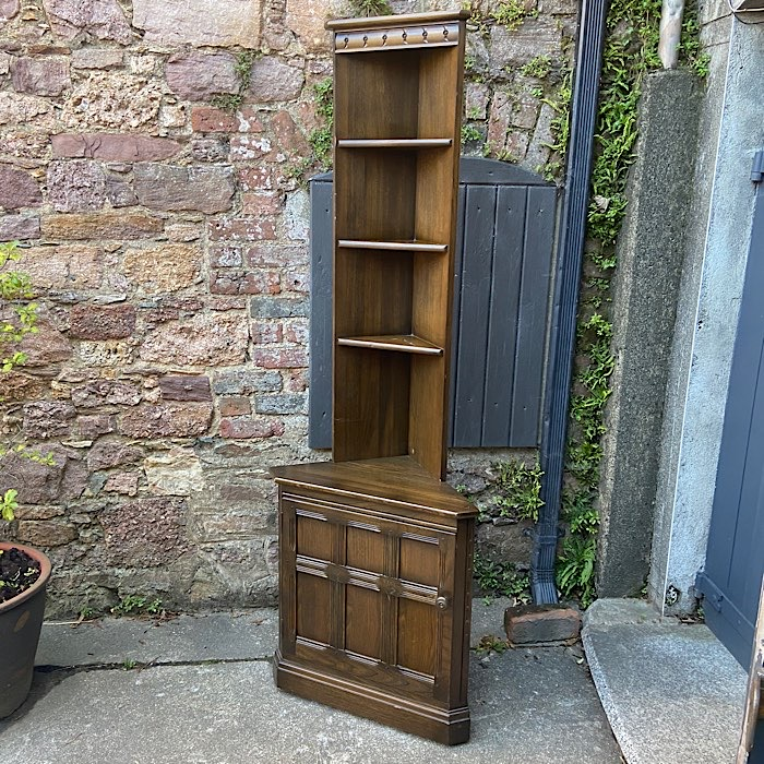 Ercol Old Colonial Corner Cabinet