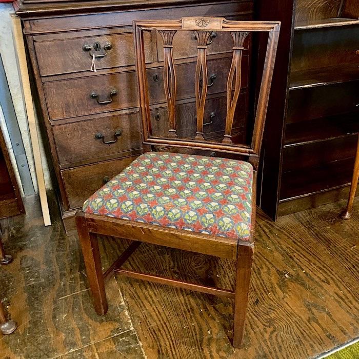 Georgian Mahogany Dining Chair