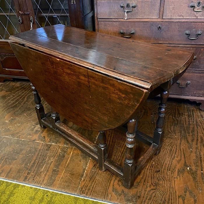 Georgian Oak Gateleg Table