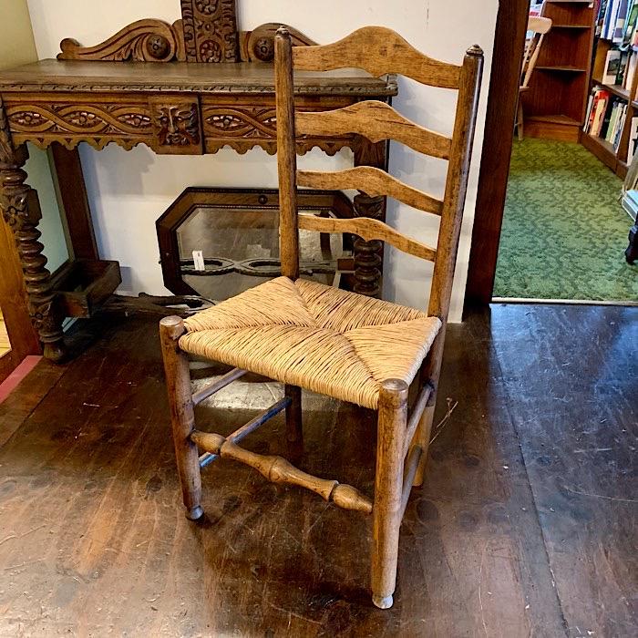 Georgian Oak Kitchen Chair