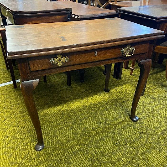 Georgian Oak Work Table
