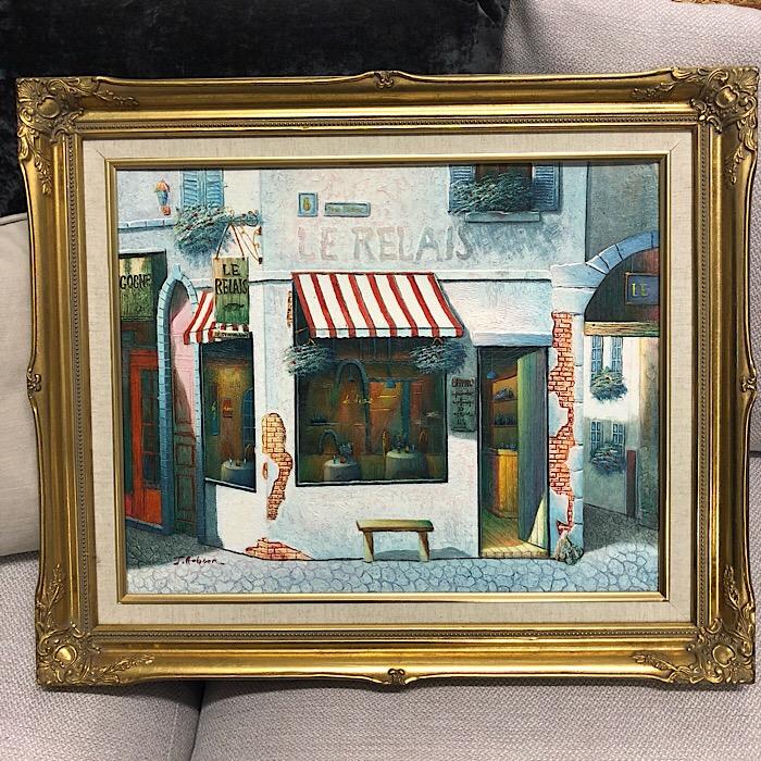 Gilt Framed Painting by JAobhon