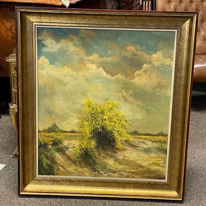 Gilt Framed Painting Sky