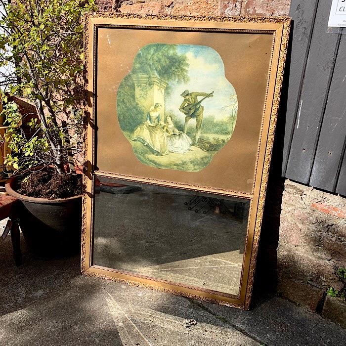 Gilt Picture Mirror