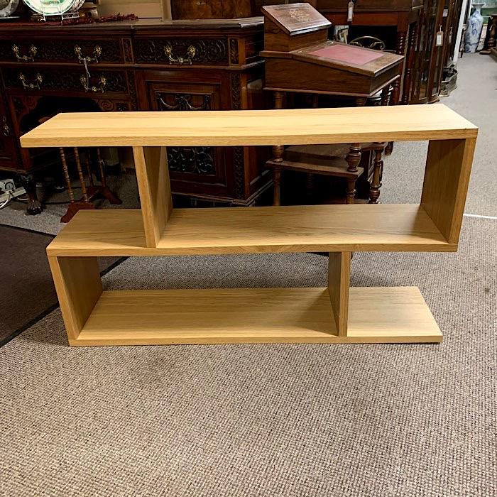 Light Oak Effect Cantilever Open Shelf