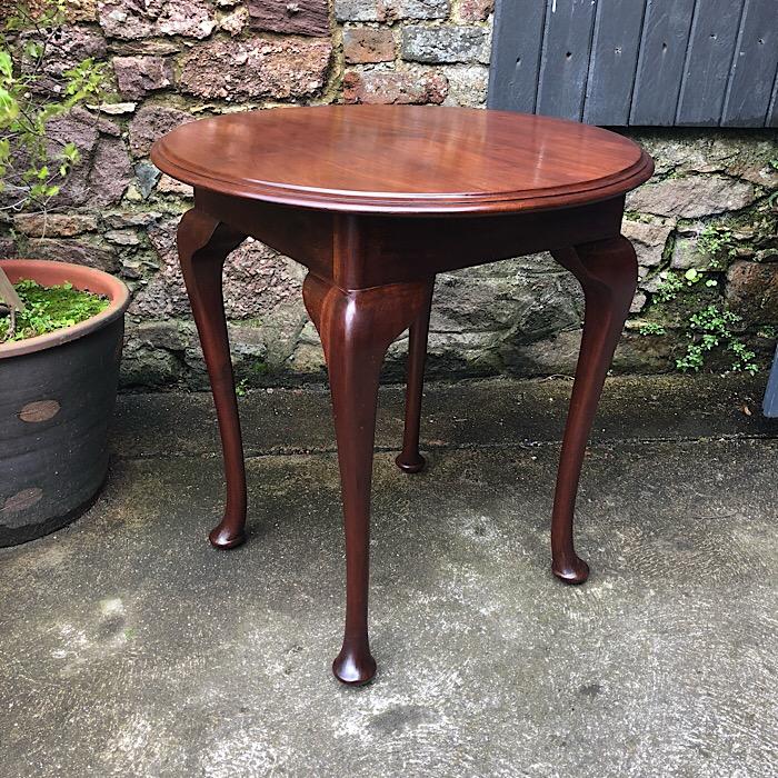 Mahogany Circular Breakfast Table