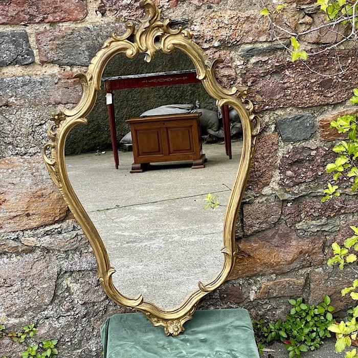 Ornate Gilt Carved Mirror