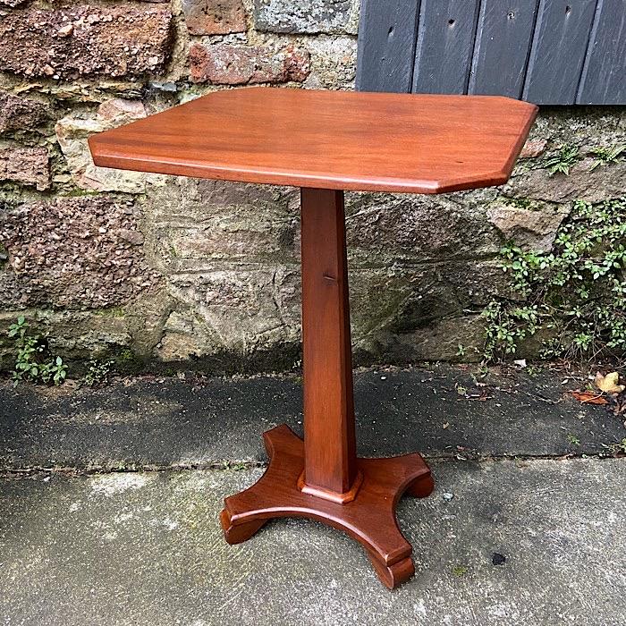 Regency Mahogany Octagonal Occasional Table