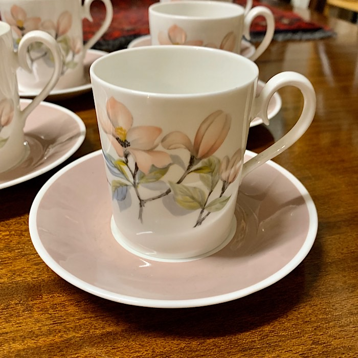 Ridgeway Bone China Ophelia Coffee Set