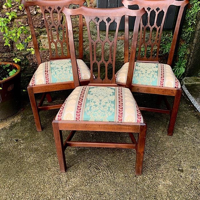 Set of Three Georgian Dining Chairs