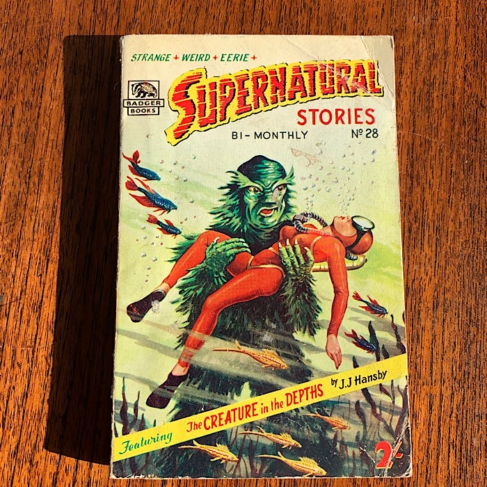Supernatural Stories No 28