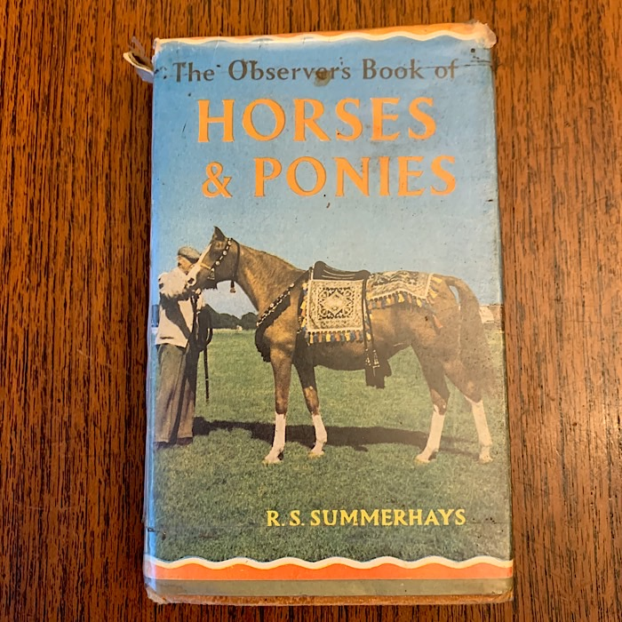 The Oberver's Book Of Horses & Ponies