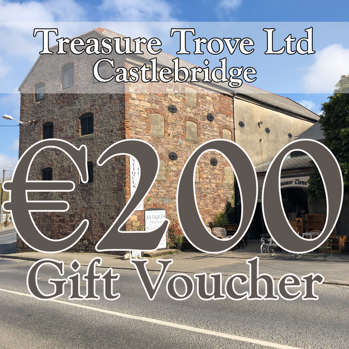 Treasure Trove Gift Voucher €200
