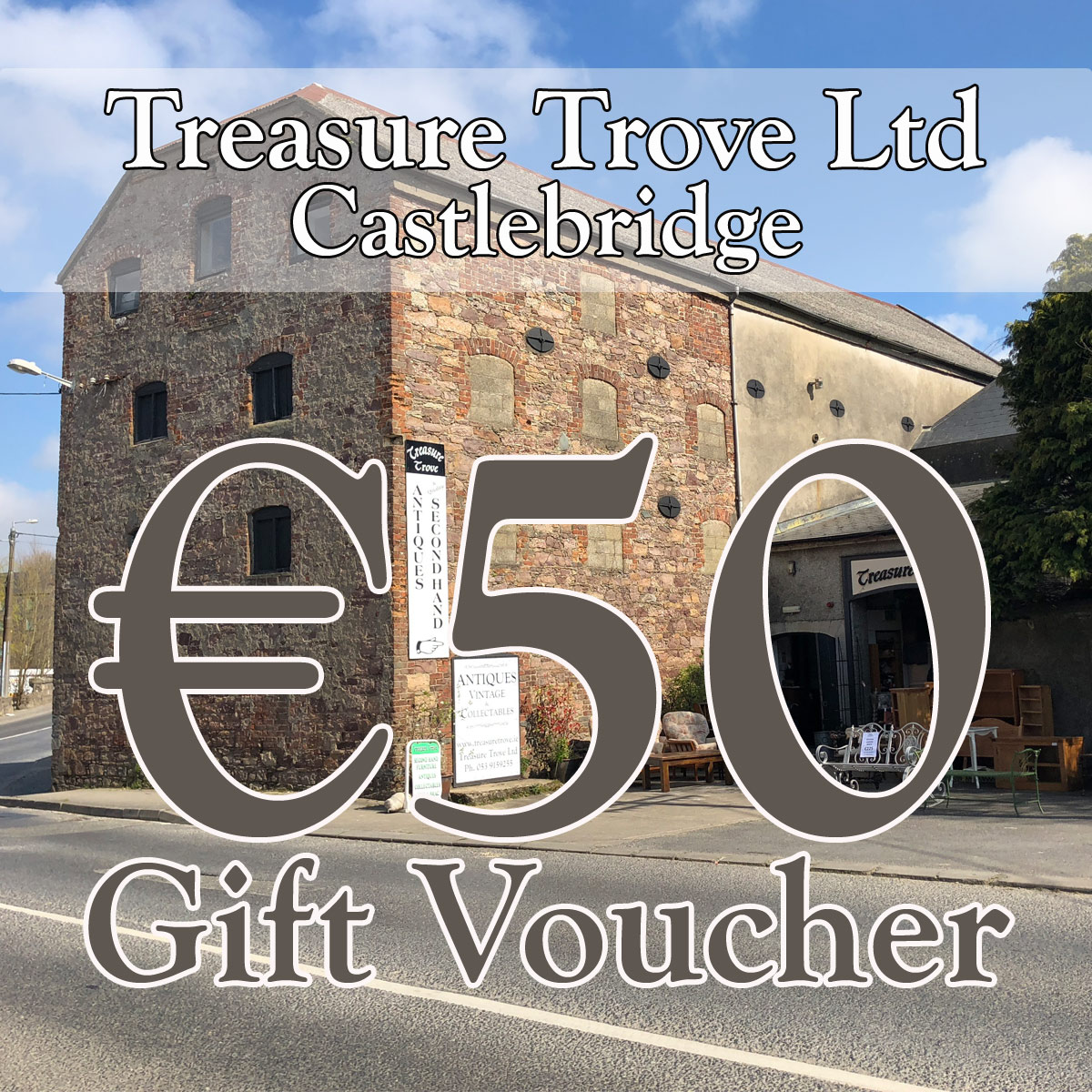 Treasure Trove Gift Voucher €50