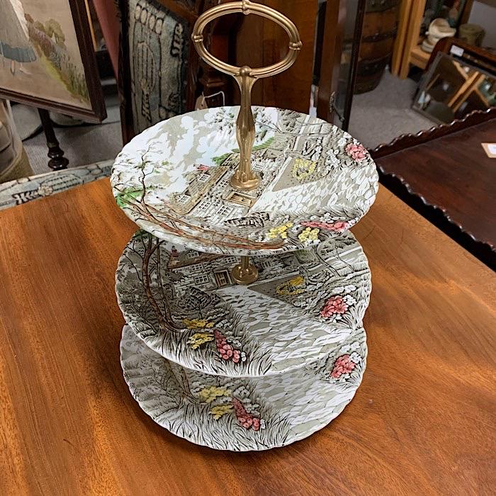 Tree Tier Ceramic Cake Stand