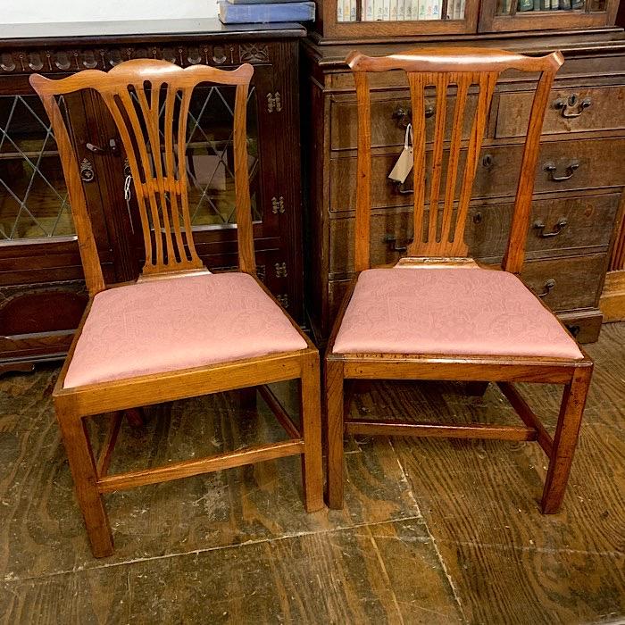 Two Similar Georgian Dining Chair
