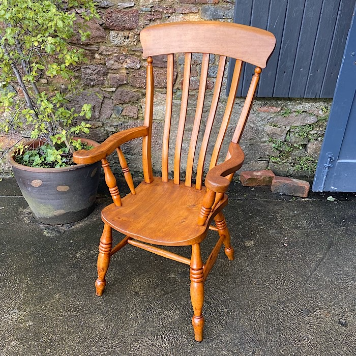 Victorian Elm And Beech Farmhouse Chair