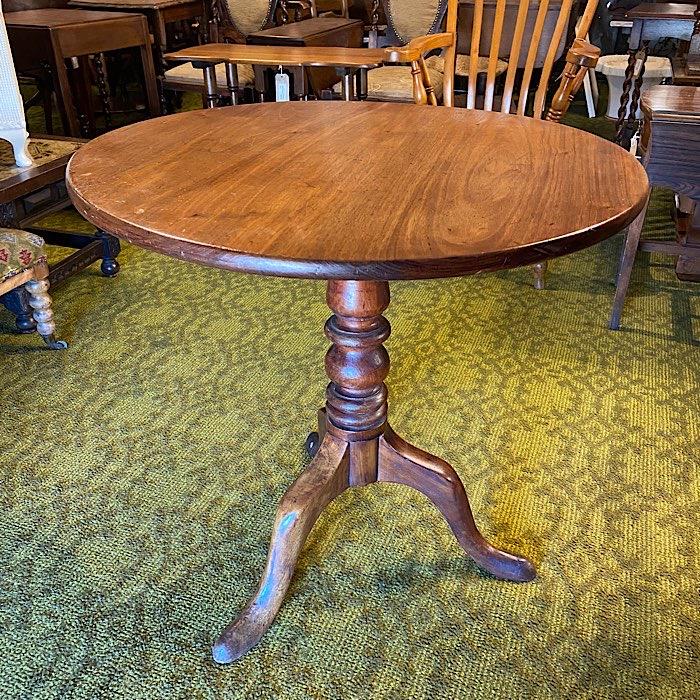 Victorian Mahogany Tilt Top Table
