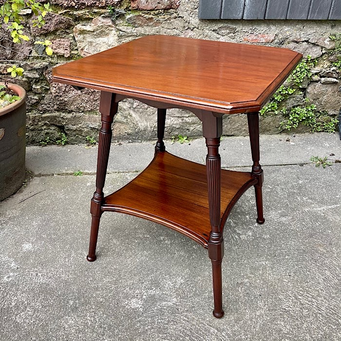 Victorian Mahogany Two Tier Occasional Table