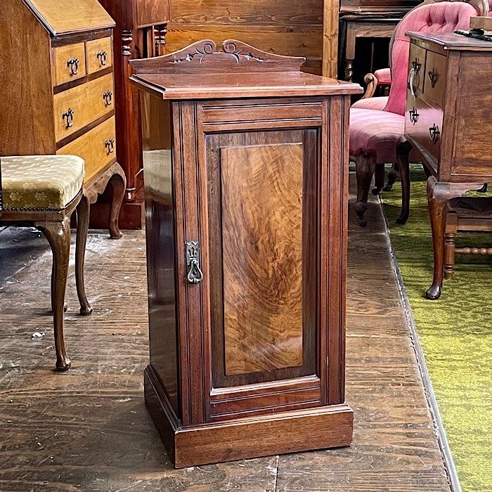 Victorian Walnut Pot Cupboard