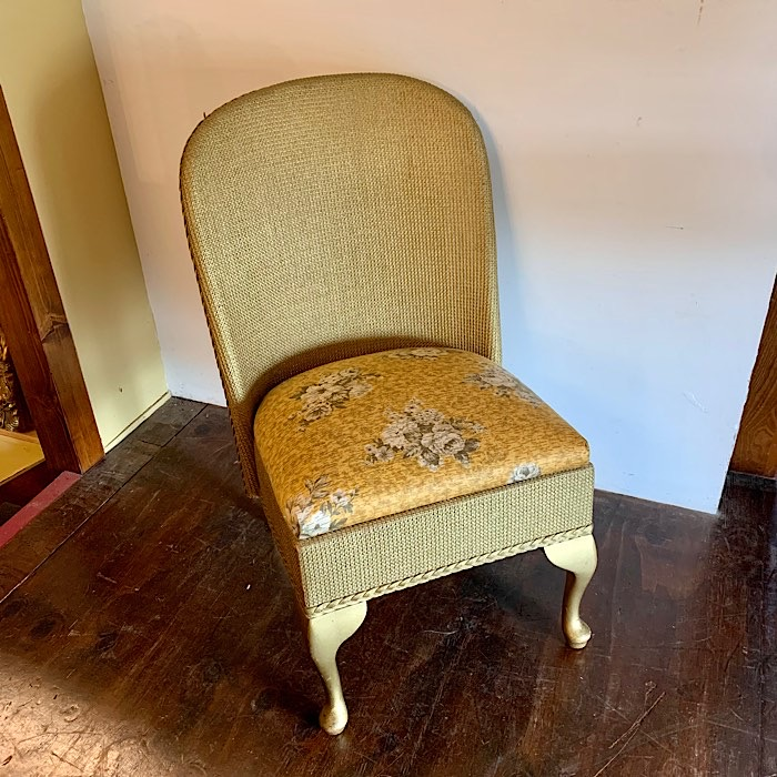 Vintage Gold Loom Chair