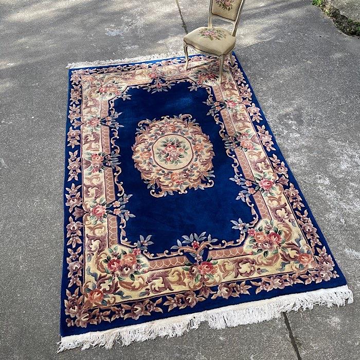 Vintage Handmade Oriental Rug