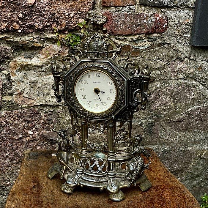 Vintage Jerger Mantel Clock