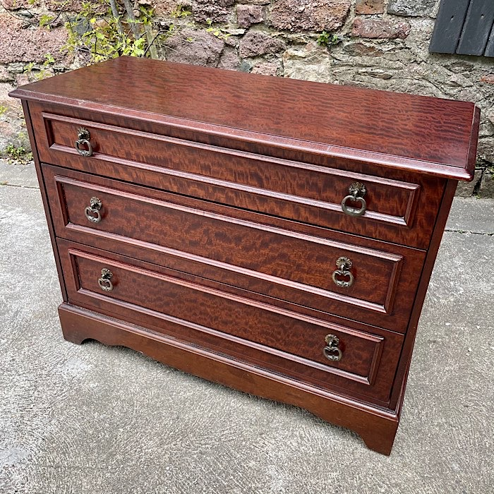 Vintage Low Three Drawer chest