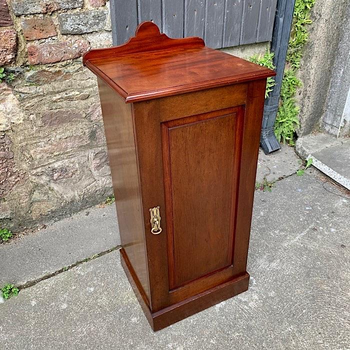 Vintage Mahogany Bedside Locker