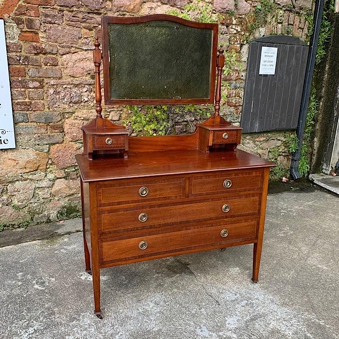 Vintage Mahogany Dressing Table