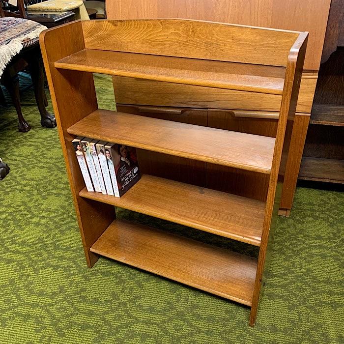Vintage Oak Bookshelf