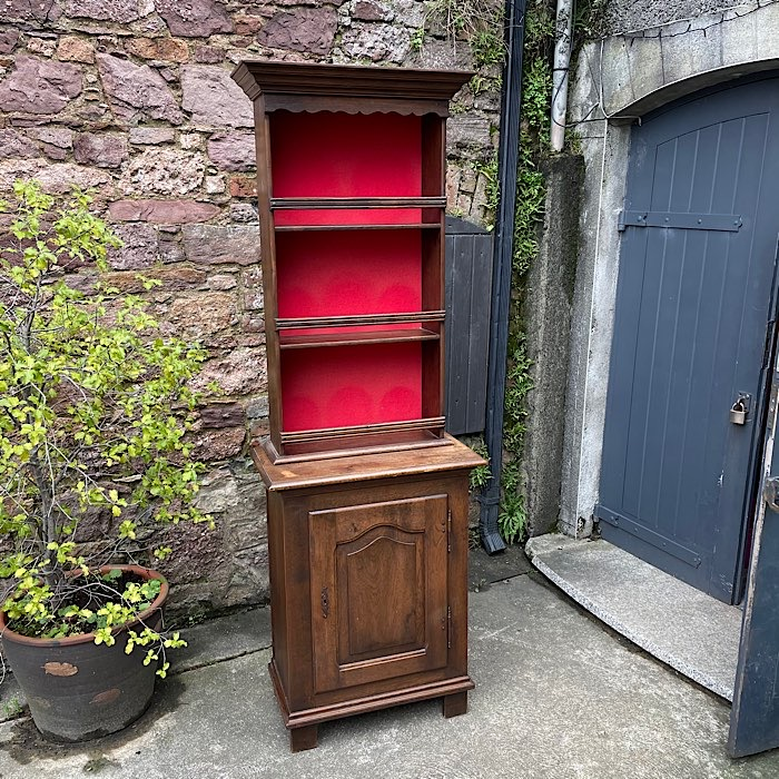 Vintage Oak Narrow Dresser