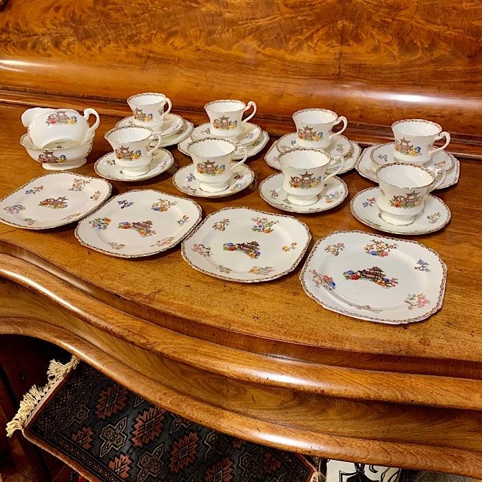 Vintage Paragon Tea Set