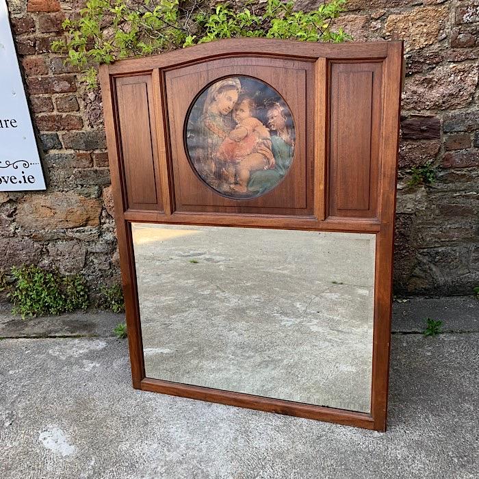 Vintage Picture Mirror
