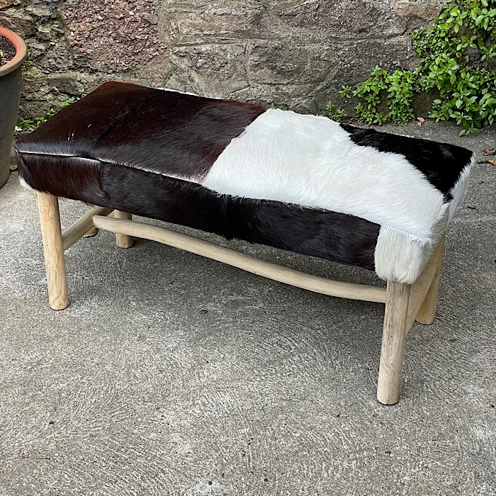 Vintage Style Bench Stool