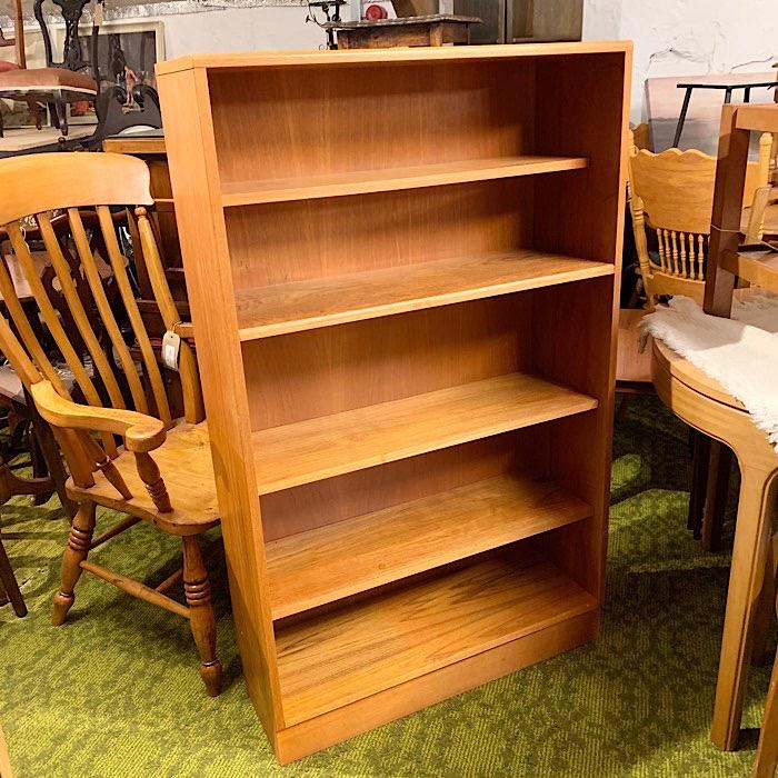 Vintage Teak Open Bookshelf