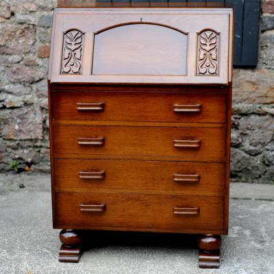 1950s Oak Bureau