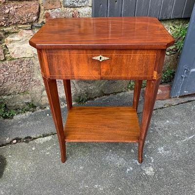 19th Centuary French Inlaid Mahogany Sewing Table