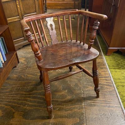19th Century Low Back Windsor Chair