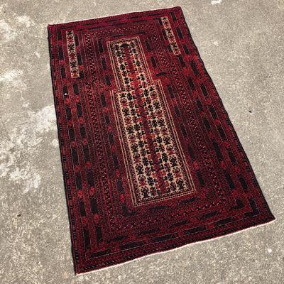 Afghan Belouch Hand Woven Prayer Rug